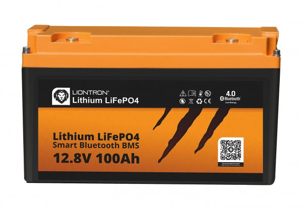 Liontron LiFePO4 battery incl. battery management system