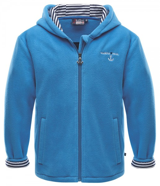 Marinepool Kinder-Fleece-Kapuzenjacke Juno