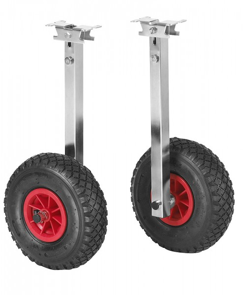 Straight dinghy wheels