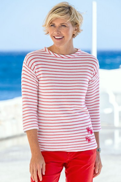 Sea & Harbour Ringelpullover