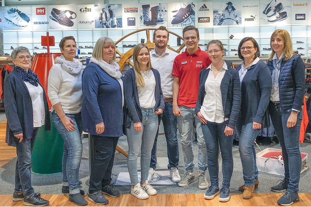 Shop-Crew Maritim-Shop Ascheberg