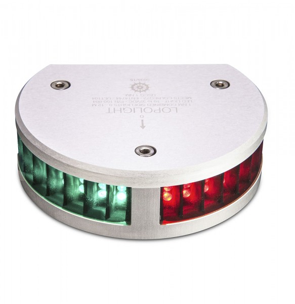 LOPOLIGHT LED-Positionslampe Zweifarben Seitenlaterne