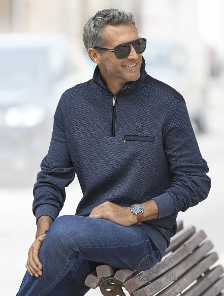 Monte Carlo Struktur-Sweater