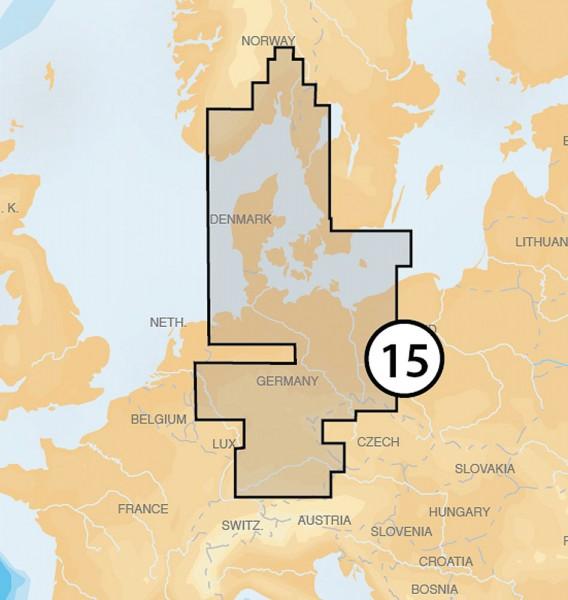 Navionics Platinum +: 15P+ Oslo bis Dänemark