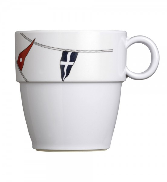 Regatta series boat crockery: coffee cup