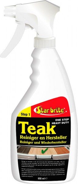 Teak Reiniger - Wiederhersteller Spray