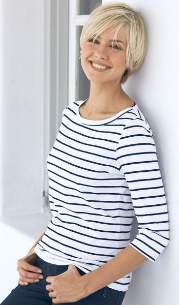 Serafini Streifenshirt maritimes Dessin