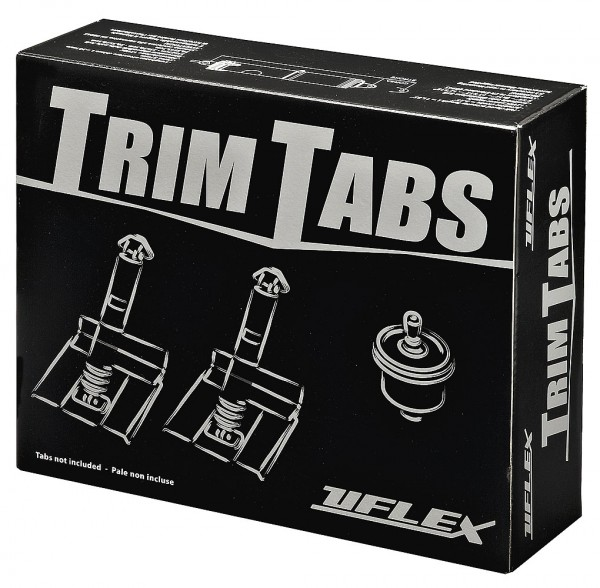 Uflex electromechanical trim tab kit