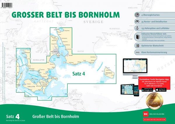 Delius Klasing Satz 4: Großer Belt bis Bornholm