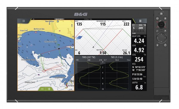 B&G - Zeusᅡᄈ Multifunction Chartplotter