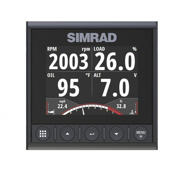 SImrad IS42 Display Speed Depth Temp Pack incl. DST810