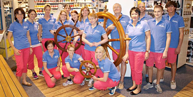 Die Compass-Shop-Crew in Altendorf