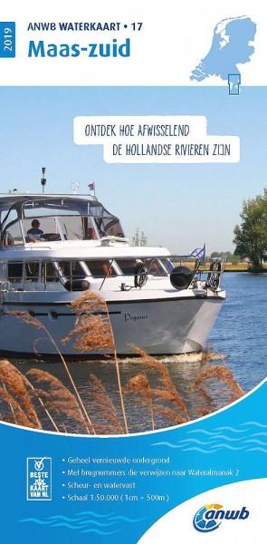 ANWB Waterkaart #17 Maas-Zuid