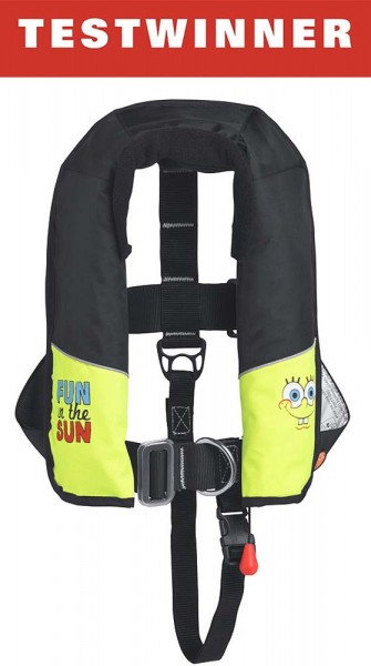 Children's Automatic Lifejacket SpongeBob 150N