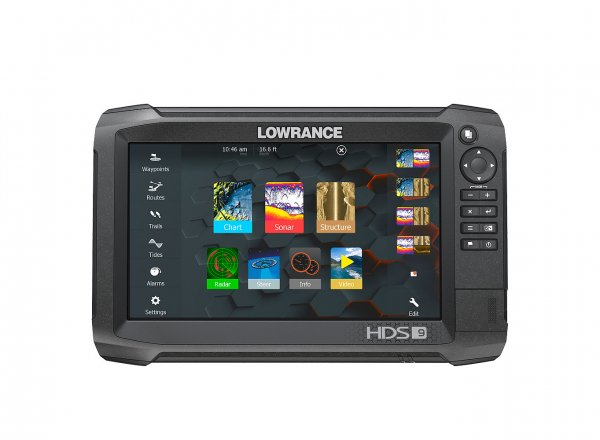 "Lowrance HDS-Carbon 9"" Multifunktions Display Kartenplotter"