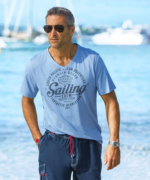 Capt. Scott Sailing V-Shirt