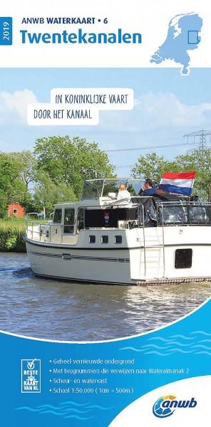 ANWB Waterkaart #6 Twentekanalen