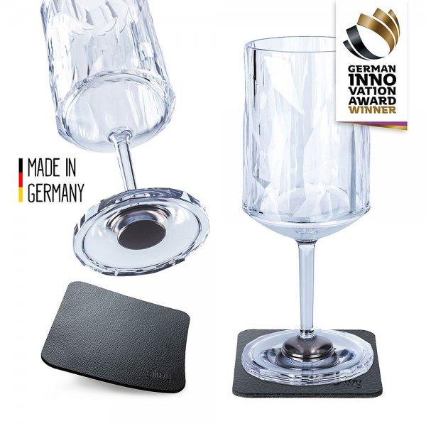 Weinbecher mit Magnet, 2er Set