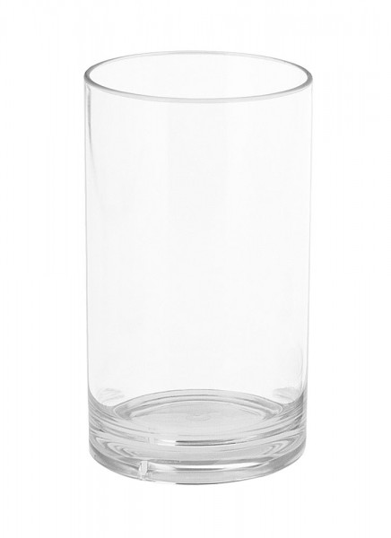 Gimex drinking glass with clear base