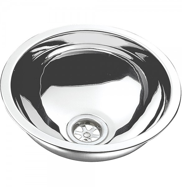 Stainless Steel Wash Basin circular