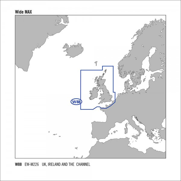 C-MAP MAX Wide C-Card UK Irland & der Kanal EW-M226