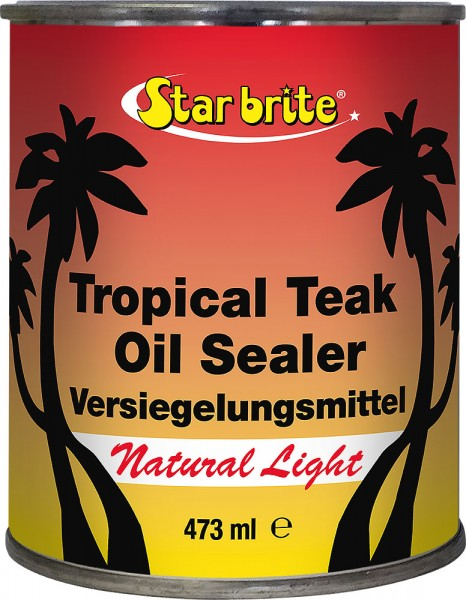 Tropical Teak Oil - Natural Light