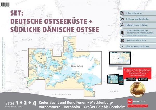 Delius Klasing Sportboot Karten-Set