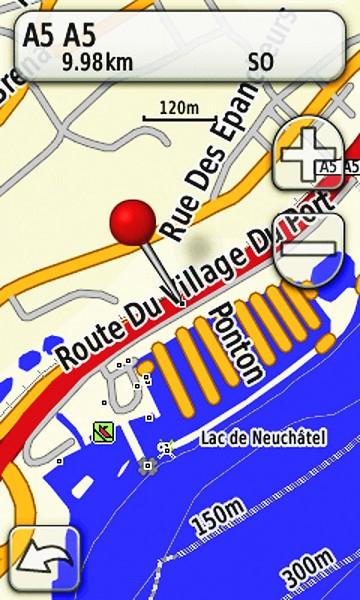 Schweizer Seen microSD/SD Karte
