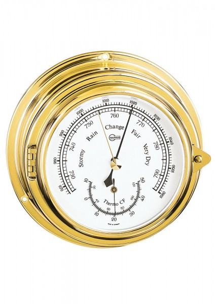 Ship barometer/thermometer