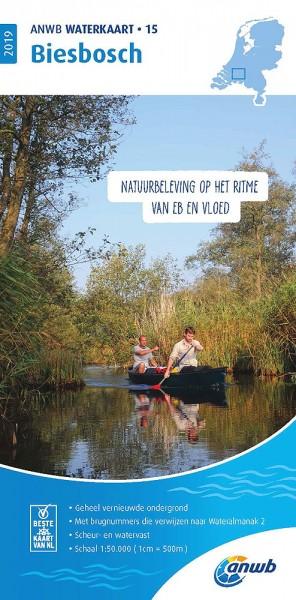 ANWB Waterkaart #15 Biesbosch