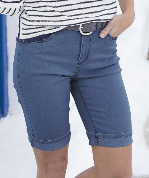 Jeans-Bermudas, 5-Pocket