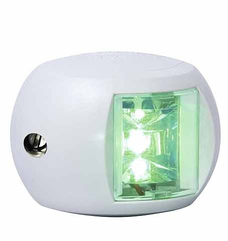 Aqua Signal Series 34 starboard navigation light