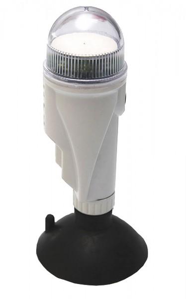 Lampa nawigacyjna okrągła biała