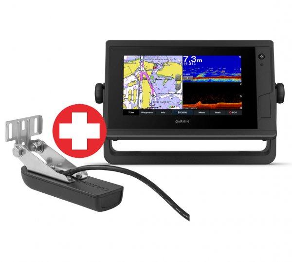 Set GPSMAP 722xs Plus + Geber