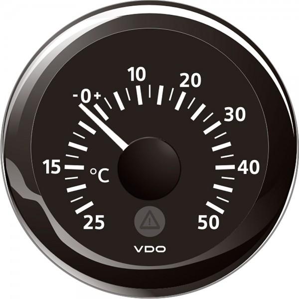 Thermomètre extérieur 52 mm