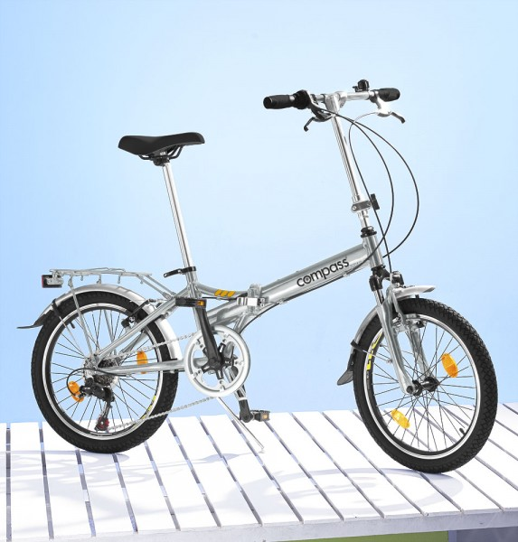 "Compass 20"" Aluminium Folding Bike"