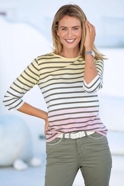 Pullover im Ringel-Design